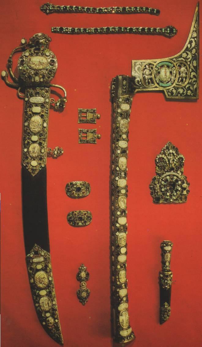 Части «Горняцкого наряда» курфюрста Иоганна Георга 2