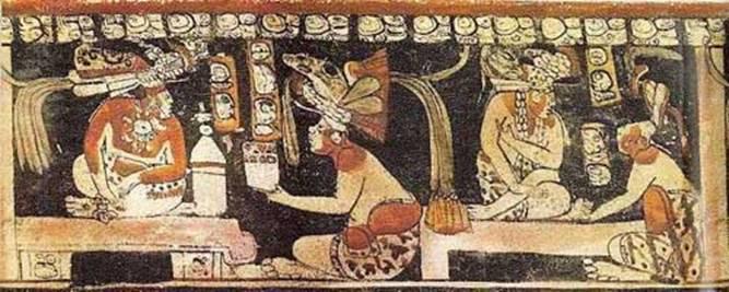 фрески майя