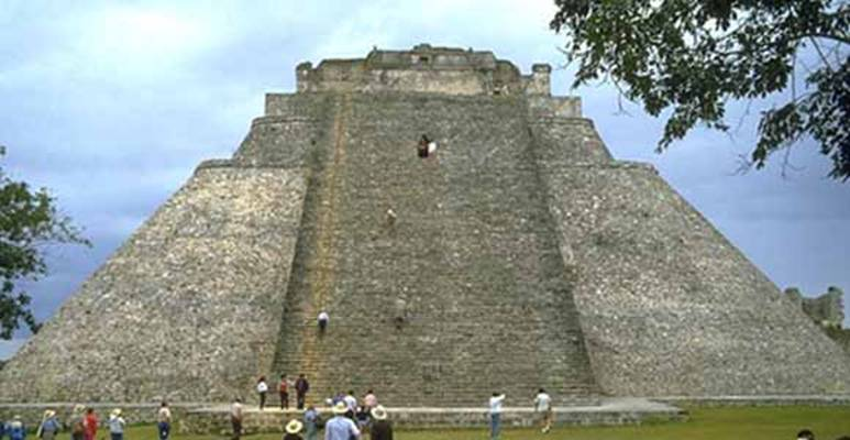Пирамида в Ушмале