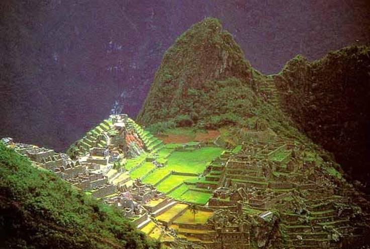 горный город инков Мачу Пикчу