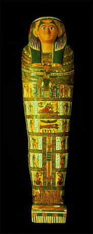 Саркофаг мумии
