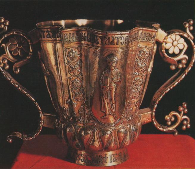 Кратир из Софийского собора. 12 век. Мастер Флор (Братило)