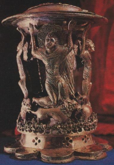 Панагиар из Софийского собора. Середина 15 века. Мастер Иван